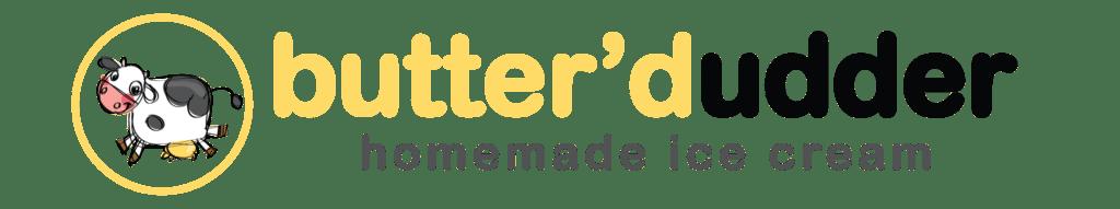 butter'dudder homemade ice cream logo